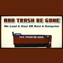 AAA Trash Be Gone Website Image