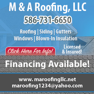 M&A Roofing, LLC Website Thumbnail